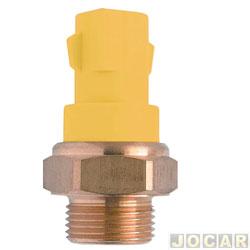 Sensor temperatura do radiador (cebolão) - MTE-Thomson - Escort 1.6/1.8 16V - 1996 até 2002 - Focus Zetec - 2000/ - Sem ar - cada (unidade) - 804.93