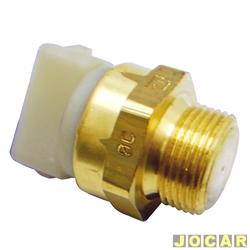Sensor temperatura do radiador (cebolão) - MTE-Thomson - Gol/Parati/Saveiro-1.6/1.8/2.0-2002 até 2005 - Escort/Verona/Logus 1.6/1.8 1993 em diante - 92/81°C - cada (unidade) - 755