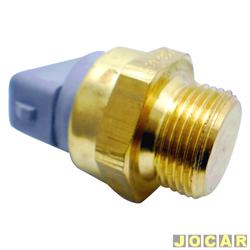 Sensor temperatura do radiador (cebolão) - MTE-Thomson - Gol/Parati/Saveiro-2.0-1994 até 2002-Logus/Escort - 1993 em diante - sem ar - cada (unidade) - 758