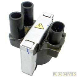 Bobina de igni��o - Uno 1.0 1993 at� 2004 - Palio 1.0/1.5 - 1996 at� 2003 - 8V - Tempra 2.0 8/16V - cada (unidade)