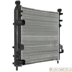 Radiador do motor - Visconde - Palio/Siena-1.0 e 1.3 - 8V e 16V - 2001 em diante  - defletor de parafuso - sem ar condicionado - cada (unidade) - 12540