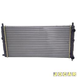 Radiador do motor - Visconde - Uno/Pr�mio/Elba/Fiorino - 2001 at� 2006 - modelo argentino - com ar - sem reservatorio - cada (unidade) - 12210