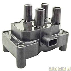 Bobina de ignição - Bosch - Ka 02/14 1.0/1.6/Focus 1.6/EcoSport 1.6 - 2008 em diante - Fiesta 1.0/1.6 - Courier 1.6 - 2008/- Ka 2002 até 2014 - cada (unidade) - 0221503485