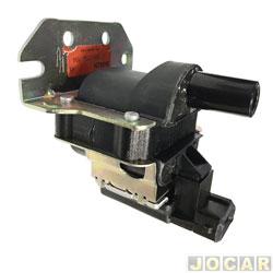 Bobina de ignição - Bosch - Gol 1.0 Mi 8/16V 1996 até 2005 - 3 pinos - cada (unidade) - F000ZS0104