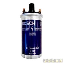 Bobina de ignição - Bosch - Fusca - 1959 até 1996 - 147 - Belina/Corcel - 1.3/1.4 -  K 12V - cada (unidade) - 9220081054