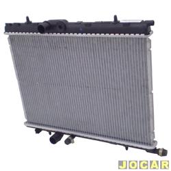 Radiador do motor - alternativo - Visconde - Peugeot 206 2003 até 2005 - 1.0 e 1.6 - com e sem ar condicionado  - cada (unidade) - 12751