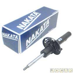 Amortecedor dianteiro - Nakata - Gol GV/Voyage - 2009 em diante - com barra estabilizadora - cada (unidade) - HG33036