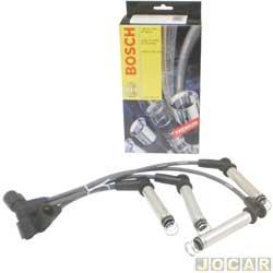 Cabo de vela - Bosch - Celta/Corsa/Prisma-Stilo/Palio-1.8 2003 em diante - S-10/Blazer- 2.4 -Meriva/Doblo/Idea - 8V flex - jogo - FOOO99C012