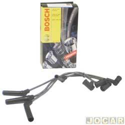 Cabo de vela - Bosch - Fiesta/Ka/EcoSport 1.0/1.6 - para motor Zetec Rocam e Flex/ Ka 2002 até 2014  - jogo - F00099C076