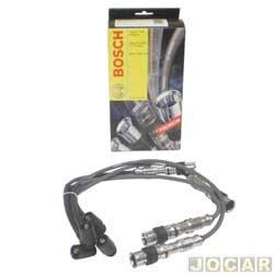 Cabo de vela - Bosch - Gol/Parati/Saveiro  2000 at� 2012 - Fox  2003 at� 2014  - Polo/Golf - 1.0/1.6 MI 2002 em diante - gasolina - cada (unidade) - F00099C125