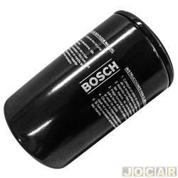 Filtro de óleo - Bosch - Linha - Volkswagem/Ford - motores AP 1.6/1.8/2.0 1982 à 2006 - cada (unidade) - 0986B00018