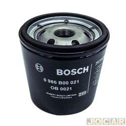 Filtro de óleo - Bosch - Astra/Corsa/Monza/Palio - cada (unidade) - 0986B00021
