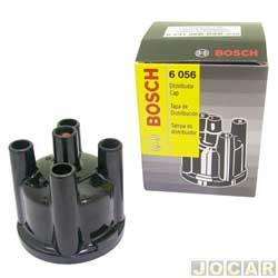 Tampa do distribuidor - Bosch - Opala/Chevette - 1981 até 1992 - Belina/Escort/Verona/Pampa - 1983 até 1993 - cada (unidade) - 9231086056