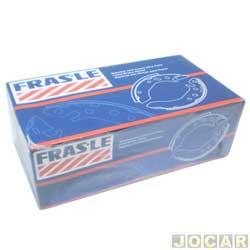 Sapata de freio - Fras-le - Fiesta - 1966 até 1999 - Celta - 2000 em diante - colada MED. 180X32MM - SIST. VARGA - traseiro - par - FD/61-CPA