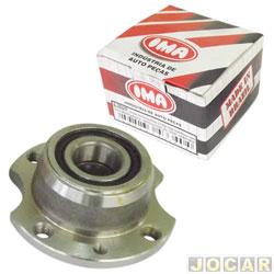 Cubo de roda - IMA - Uno Fire - 2003 em diante - Tipo - 1993 até 1997  - com rolamento - ferro fundido - traseiro - cada (unidade) - AL599/AFF