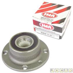 Cubo de roda - IMA - Tempra 1992 até 1999/Punto 1.4/1.8 - Palio - 1.6/1.8 - 8/16V - com rolamento - traseiro - cada (unidade) - AL645