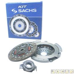 Kit de embreagem - Sachs - Gol/Saveiro 1980 até 1986 - Kombi 1976 até 2006 - Brasilia até 1982 - Fusca 1970 até 1996 - motor a ar 1.5/1.6 - jogo - 6069