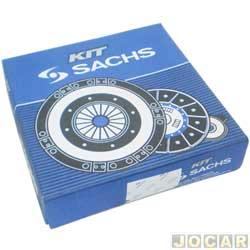 Kit de embreagem - Sachs - Palio/Siena/Strada - 2000 em diante - 1.0/1.3 Motor Fire - 180MM - jogo - 6267