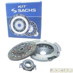 Kit de embreagem - Sachs - Gol/Parati/Saveiro/Voyage 1975 até 1996 - jogo - 6562
