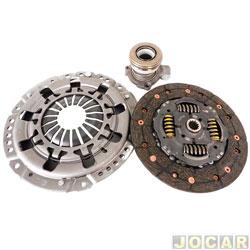 Kit de embreagem - Sachs - Corsa 1.8 2003 em diante/Meriva/Zafira 2.0 1999 em diante - para caixa de câmbio F17 - jogo - 6620