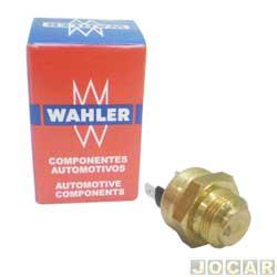 Sensor temperatura do radiador (cebolão) - Wahler - Fiesta 1.4 - 1996 até 1999  - Chevette 1.0 - 1992 até 1993 - cada (unidade) - 6010.87