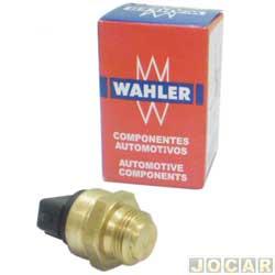 Sensor temperatura do radiador (cebol�o) - Wahler - Gol/Parati/Saveiro - 1995 at� 1999 - Escort/Verona - 1993 at� 1996 com ar cond. Mot. AP - cada (unidade) - 6025.95