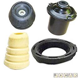 Kit do amortecedor dianteiro - alternativo - RC Borrachas - Montana 2003 até 2010 - completo - cada (unidade) - 240-C