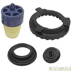 Kit do amortecedor traseiro - RC Borrachas - Marea weekend/turbo - 2.0 - 1999 até 2007 - completo - cada (unidade) - 421-ST
