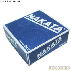 Disco de freio - Nakata - Vectra 1996 até 1998 /Meriva/Astra 2002 até 2004 - traseiro - par - NKF-6062