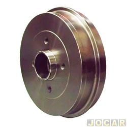 Tambor de freio - Varga - Corsa 1.0 1.4 1.6 1994 até 2010 - sem cubo 4 furos 228mm - traseiro - cada (unidade) - RPTA0019.0