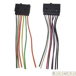 Conector adaptador para rádio - Ford - com 14 vias - cada (unidade)