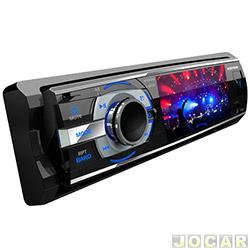 DVD player - P�sitron - com tela de LCD de 3-USB/CD/CD-R/CD-RW/DVD/DVD-R e DVD-RW - cada (unidade) - SP4310AV