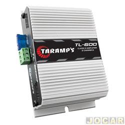 Amplificador de pot�ncia - Taramp's - TL600 (2 canais 85 watts) classe D 170 watts - RMS 2 OHMS - cada (unidade) - 900080