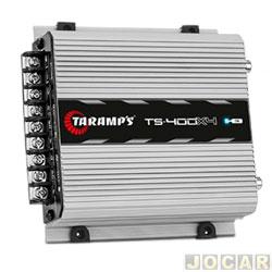 Amplificador de pot�ncia - Taramp's - TS400x4 classe D 400 watts RMS (4 canais ST2/BR4) - cada (unidade) - 900164