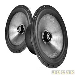 Alto-falante - Bravox - coaxial, 6 polegadas,  60W RMS com 4 OHMS - par - CX60-B / 9-6076/047