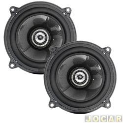 Alto-falante - Bravox - coaxial -  5 - 80 W - par - CX50 BK