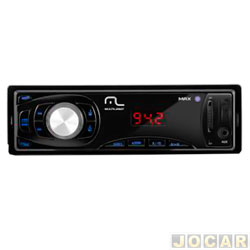 Auto rádio mp3 player - Multilaser - Max automotivo com entrada USB/SD  - cada (unidade) - P3208