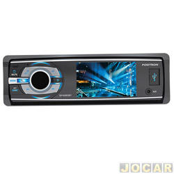 DVD player - Pósitron - tela de 3 polegadas com bluetooth, conexão USB e MP3 - cada (unidade) - SP4330BT