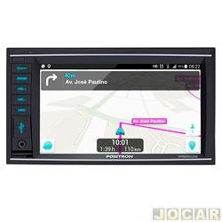 Central multim�dia - P�sitron - 6.2,  receptor TV,Espelhamento de tela,compat�vel c/Iphone  - cada (unidade) - SP8830Link