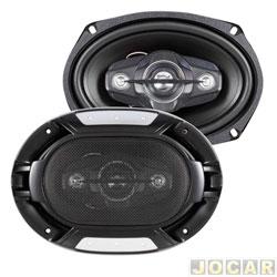 Alto-falante - Roadstar - Quadriaxial - 6x9 série 8  - 200Watts - par - RS6908BR