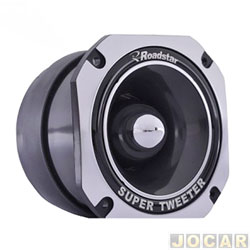 Tweeter do alto-falante - Roadstar - super - aluminio - potência 120 watts - cada (unidade) - RS-325ST