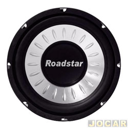 Subwoofer - Roadstar - superbass 10 - 250 watts -  4 Ohms - cada (unidade) - RS-1053BR