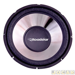 Subwoofer - Roadstar - superbass 15 - 350 watts - 4 Ohms - cada (unidade) - RS-1534BR