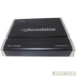 Amplificador de potência - Roadstar - modulo digital classe D 4 canais - cada (unidade) - RS-4200BR