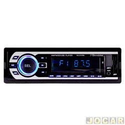 Auto rádio MP3 player - Roadstar - rádio FM/SD/USB - cada (unidade) - RS-2707BR
