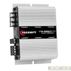 Amplificador de potência - Taramp's - TS 250x3 Classe D 250 W RMS (2 canais 63W RMS/1 canal 126W R - cada (unidade) - 900468
