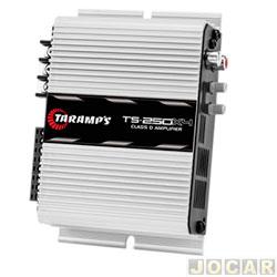 Amplificador de potência - Taramp's - TS 250x4 Classe D 2500 Watts RMS(4 canais ST2/BR4) - cada (unidade) - 900435