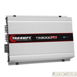Amplificador de potência - Taramp's - TS 2000x4 Compact Classe D 2000 Watts RMS (4 canais ST2/BR4) - cada (unidade) - 900563