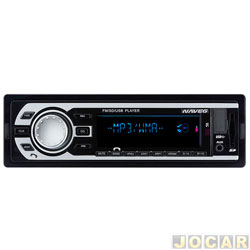 Auto rádio MP3 player - Naveg - Bluetooth - FM/SD - Mp3 - cada (unidade) - NVS 3018 BT