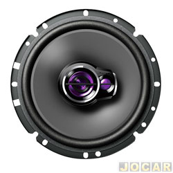 Alto-falante - Pioneer - Triaxial - 6 - 220W RMS - par - TS-1760BR